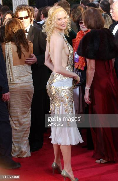 Nicole Kidman during The 61st Annual Golden Globe Awards Arrivals at The Beverly Hilton Hotel in Beverly Hills California United States