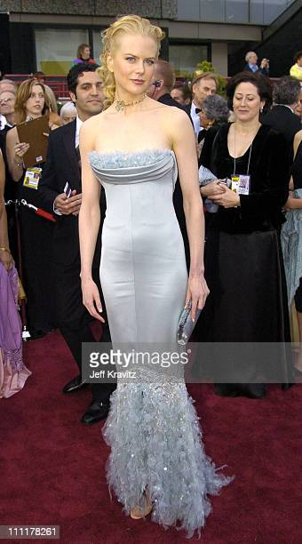 Nicole Kidman during The 76th Annual Academy Awards - Arrivals by Jeff Kravitz at Kodak Theatre in Hollywood, California, United States.