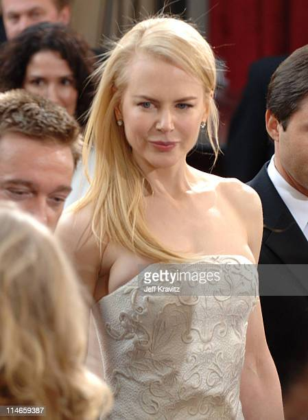 Nicole Kidman during The 78th Annual Academy Awards - Red Carpet at Kodak Theatre in Hollywood, California, United States.