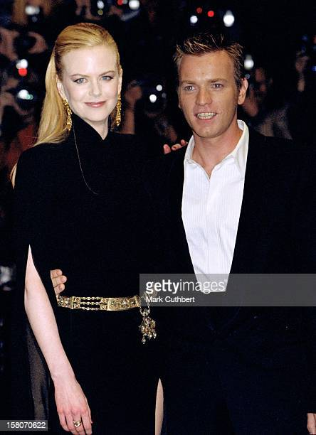 Nicole Kidman Ewan Macgregor Attend The 'Moulin Rouge' London Film Premiere