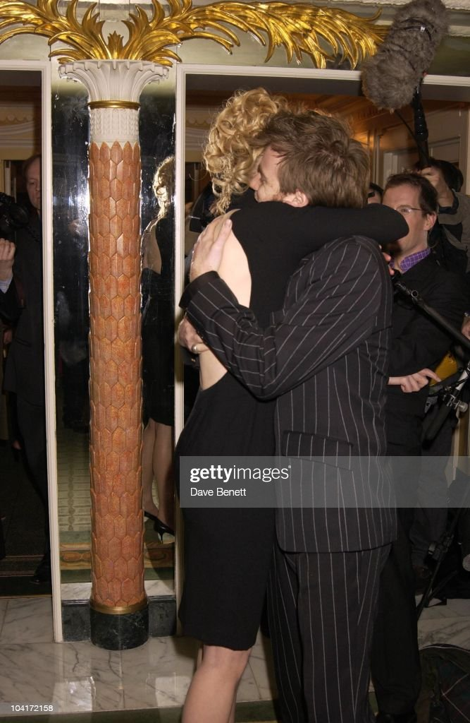 Nicole Kidman & Ewan Mcgregor, London Film Critics Circle Awards 2002, At The Dorchester Hotel, London