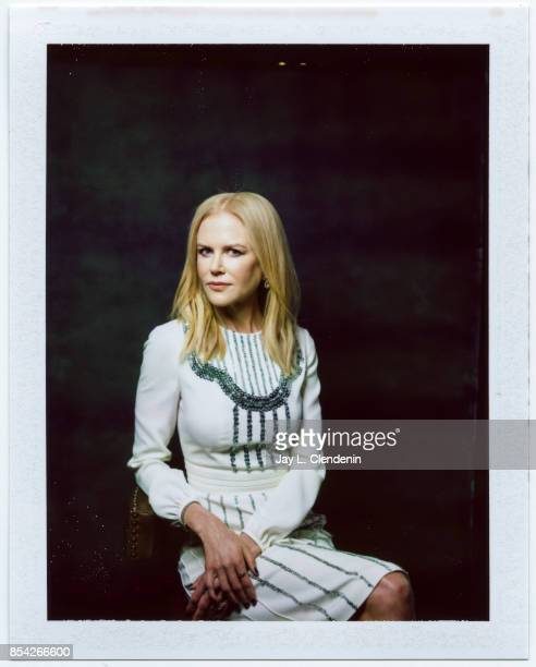 Nicole Kidman from the film 'Killing of a Sacred Deer' is photographed on polaroid film at the LA Times HQ at the 42nd Toronto International Film...