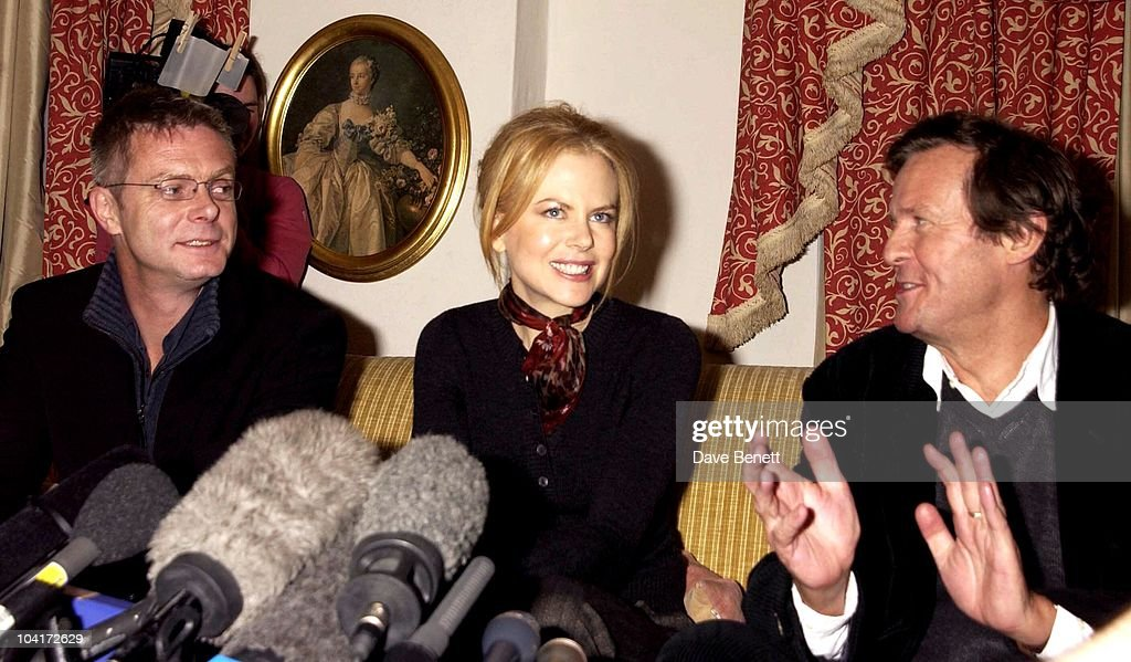 Nicole Kidman Gives Her Reaction To Being Nominated For An Oscar For Best Actress In The Film 'The Hours', The Dorchester Hotel, London