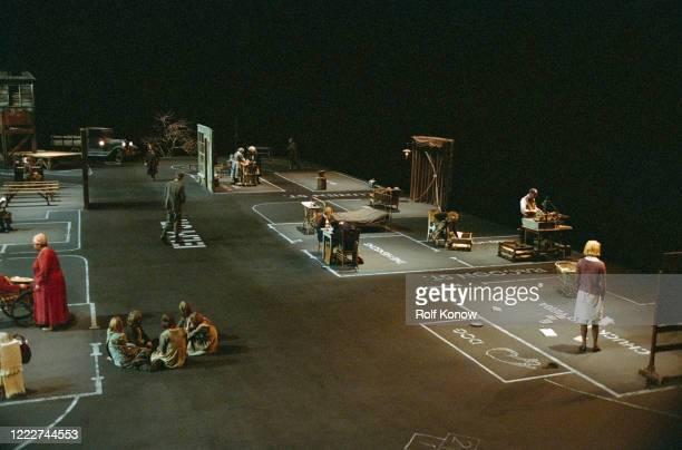 Nicole Kidman in Dogville directed by Lars von Trier Sweden 2002