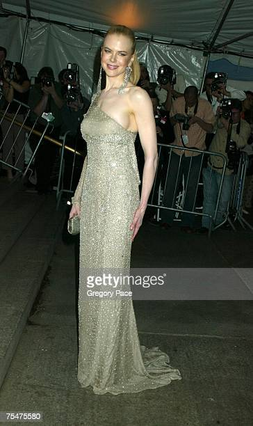 Nicole Kidman in Tom Ford for Gucci at the Costume Institute Benefit Gala 'Party of the Year' by Gregory Pace at Metropolitan Museum of Art in New...