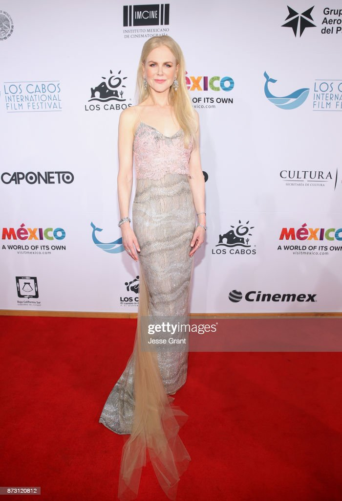Nicole Kidman Honored At The 6th Los Cabos International Film Festival