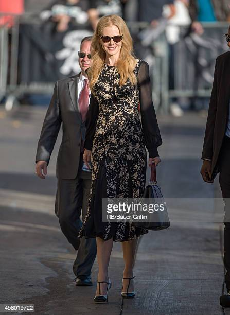 Nicole Kidman is seen at 'Jimmy Kimmel Live' on October 28, 2014 in Los Angeles, California.