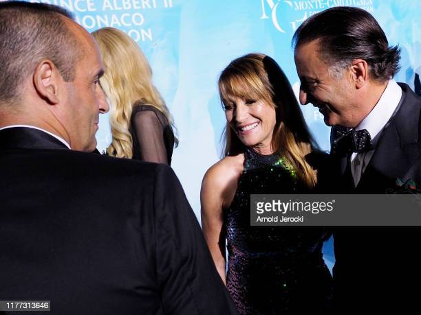 Nicole Kidman, Jane Seymour and Andy Garcia attend the Gala for the Global Ocean hosted by H.S.H. Prince Albert II of Monaco at Opera of Monte-Carlo...