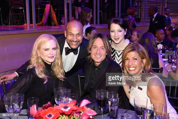 Nicole Kidman KeeganMichael Key Keith Urban Elisa Pugliese and Hoda Kotb attend the 2018 Time 100 Gala at Jazz at Lincoln Center on April 24 2018 in...