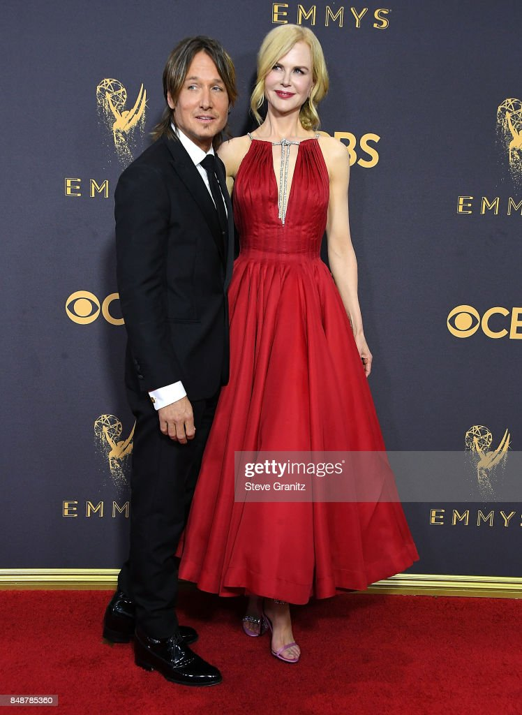 Nicole Kidman, Keith Urban arrives at the 69th Annual Primetime Emmy Awards at Microsoft Theater on September 17, 2017 in Los Angeles, California.