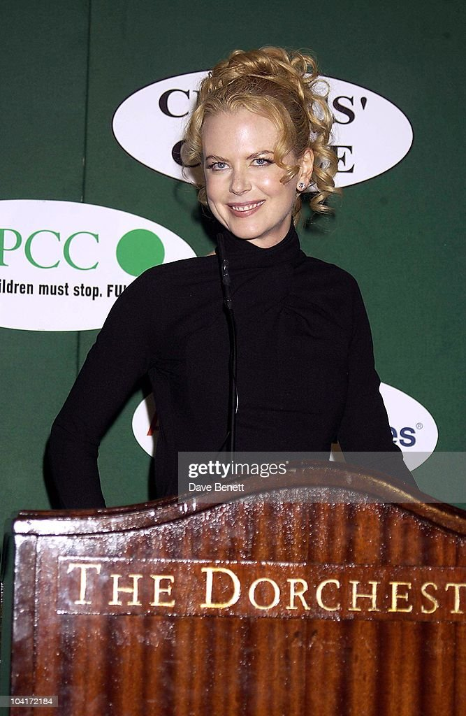 Nicole Kidman, London Film Critics Circle Awards 2002, At The Dorchester Hotel, London