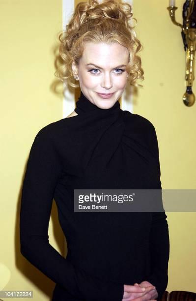 Nicole Kidman London Film Critics Circle Awards 2002 At The Dorchester Hotel London