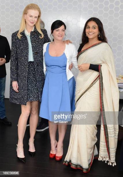 Nicole Kidman Lynne Ramsay and Vidya Balan of the Grand Jury attends Chef's Table by Electrolux with Bruno Oger at Electrolux Agora Pavilion on May...