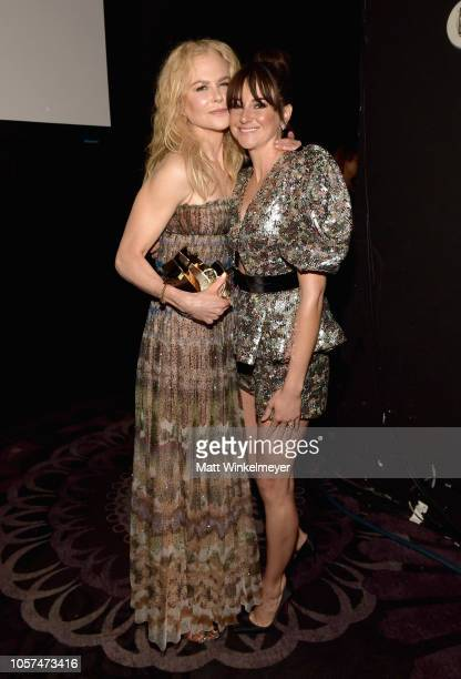 Nicole Kidman recipient of the Hollywood Career Achievement Award and Shailene Woodley attend the 22nd Annual Hollywood Film Awards at The Beverly...