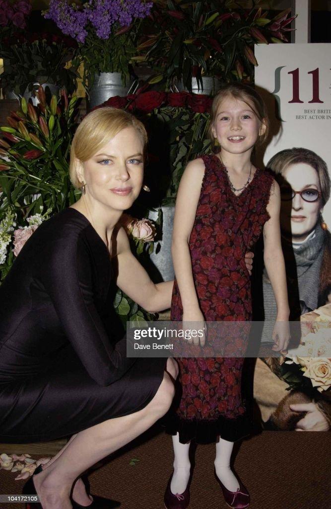 Nicole Kidman, 'The Hours' Uk Charity Movie Premiere Held At The Chelsea Cinema In London.
