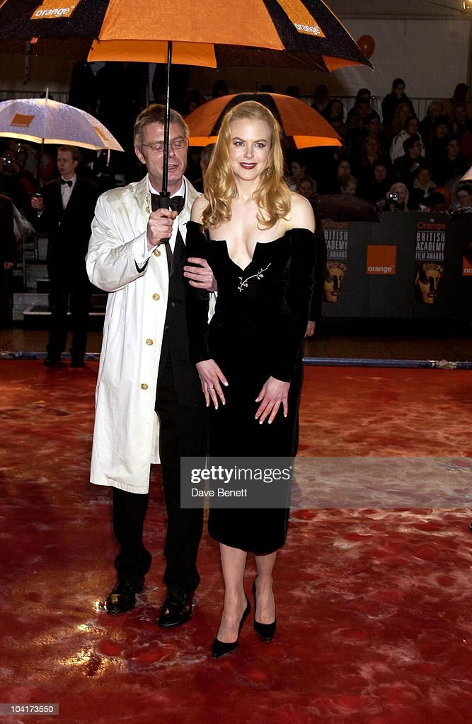 Nicole Kidman, The Orange British Academy Film Awards (bafta) 2002, At The Odeon, Leicester Square, London