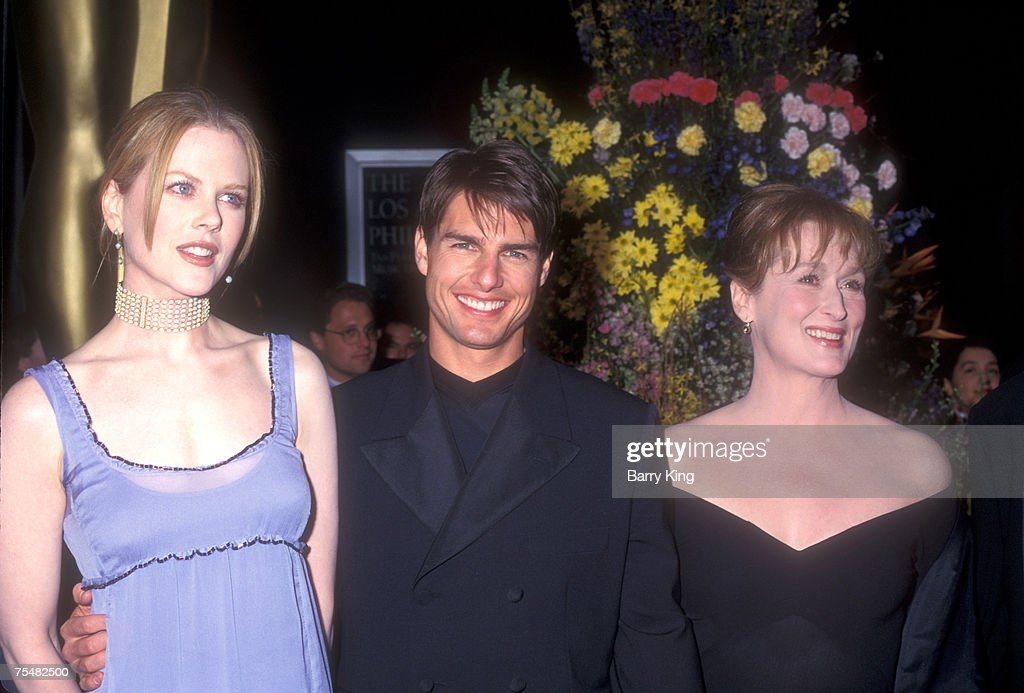 Nicole Kidman, Tom Cruise & Meryl Streep at the Dorothy Chandler Pavilion in Los Angeles, California