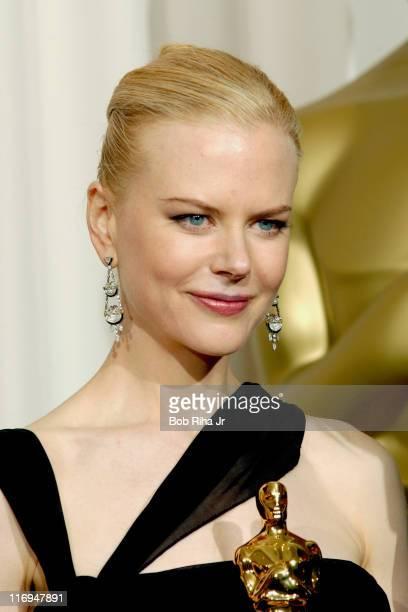 Nicole Kidman winner of Best Actress in The Hours