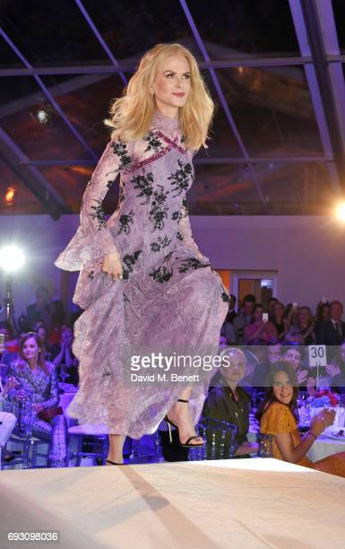 Nicole Kidman winner of the Film Actress award attends the Glamour Women of The Year Awards 2017 in Berkeley Square Gardens on June 6 2017 in London...