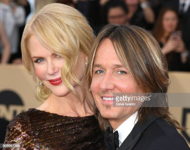 Nicole KidmanKeith Urban arrives at the 24th Annual Screen ActorsGuild Awards at The Shrine Auditorium on January 21 2018 in Los Angeles California
