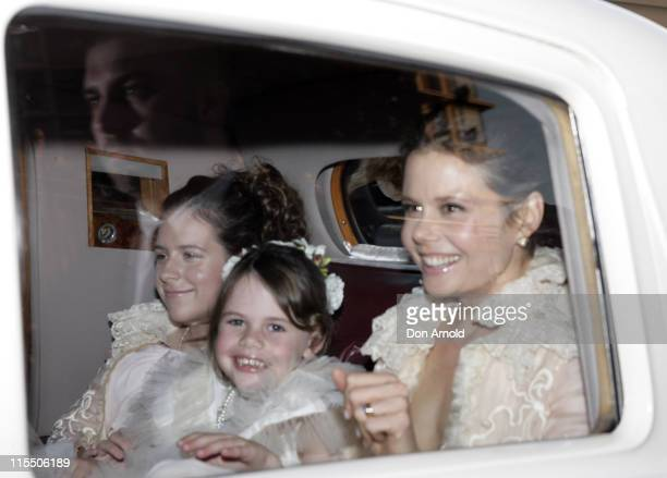 Nicole Kidman's daughter Isabella Cruise Antonia Kidman and her daughter outside her Darling Point home on Sunday June 15 2006