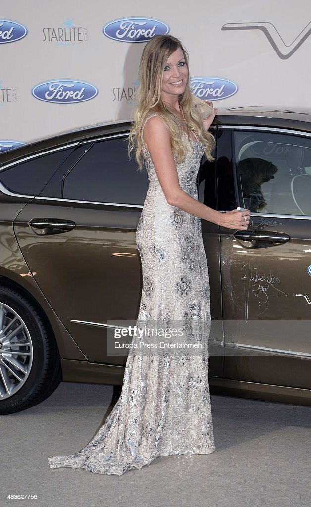 Nicole Kimpel attends Starlite Gala on August 9, 2015 in Marbella, Spain.