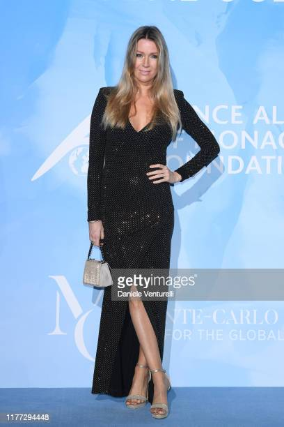 Nicole Kimpel attends the Gala for the Global Ocean hosted by H.S.H. Prince Albert II of Monaco at Opera of Monte-Carlo on September 26, 2019 in...