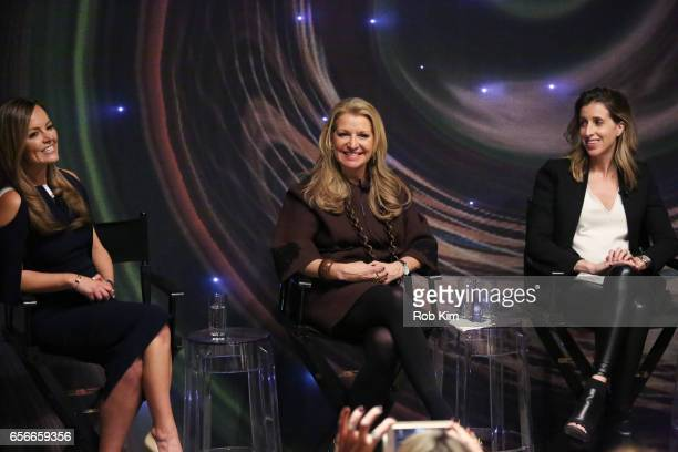 Nicole Lapin, Mindy Grossman and Katia Beauchamp attend the Female Bosses celebration and BOSS BITCH book launch and interactive panel event at The...