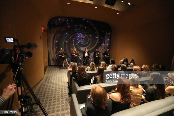 Nicole Lapin, Mindy Grossman, Katia Beauchamp, Lavinia Errico and Lili Gil Valletta attend the Female Bosses celebration and BOSS BITCH book launch...