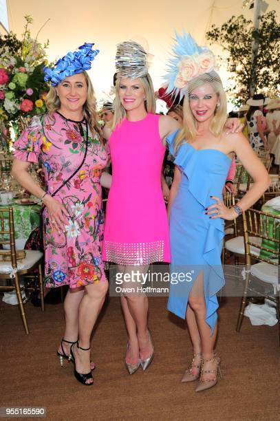 Nicole Lozano Suzy Buckley Woodward and Judge Bronwyn Miller attend 36th Annual Frederick Law Olmsted Awards Luncheon Central Park Conservancy at The...