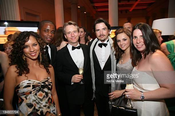 Nicole Lyn Dule Hill Linus Roache Matthew Settle and Rachael Leigh Cook attend the Jason Binn Capitol File Hosts White House Correspondents Dinner...