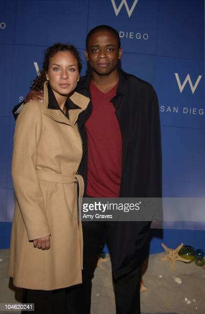 Nicole Lynn and Dule Hill during Launch of W Hotel's Newest Property San Diego at W Hotel in San Diego California United States