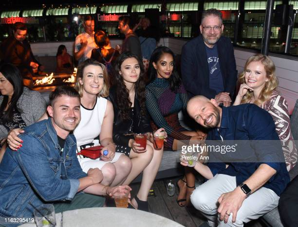 Nicole Maines Azie Tesfai Jon Cryer Andrea Brooks and guests attend Entertainment Weekly's ComicCon Bash held at FLOAT Hard Rock Hotel San Diego on...