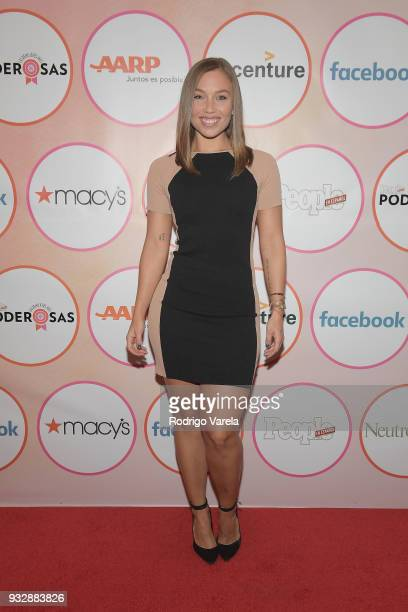 Nicole Mejia arrives at the People en Espanol's 25 Most Powerful Women Luncheon 2018 on March 16 2018 in Miami Florida
