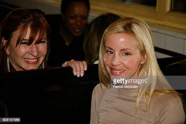 Nicole Miller and Camille Grammer attend ALEXA RAY JOEL PreConcert Dinner at Schillers Liquor Bar on February 28 2007 in New York City