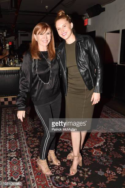 Nicole Miller and Christiane Seidel attend the Nicole Miller Spring 2019 After Party at Acme on September 6 2018 in New York City