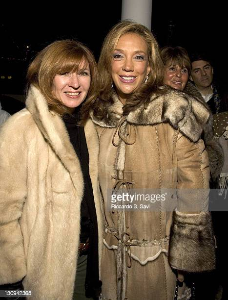 Nicole Miller and Denise Rich during Bulgari's 'Dazzling White Nights' Boutique 23 Opening at Aspen Boutique 23 in Aspen Colorado United States