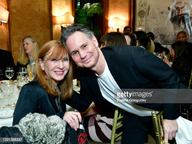 Nicole Miller and Jason Binn attend as Jason Binn hosts a dinner party to celebrate his birthday at Cipriani Wall Street on January 22 2020 in New...