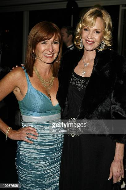 Nicole Miller and Melanie Griffith during Sharon Stone and Kelly Stone Host the 1st Annual 'Class of Hope Prom 2007' Charity Benefit Red Carpet and...