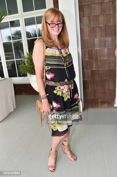 Nicole Miller attends A Maison de Mode Summer Fete hosted by Amanda Hearst at Private Residence on August 25 2018 in Water Mill New York