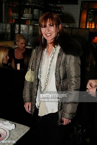 Nicole Miller attends ALEXA RAY JOEL PreConcert Dinner at Schillers Liquor Bar on February 28 2007 in New York City