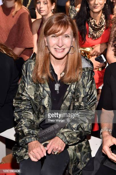 Nicole Miller attends the RISD front Row during New York Fashion Week The Shows at Gallery I at Spring Studios on September 12 2018 in New York City