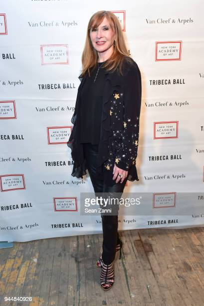 Nicole Miller attends Tribeca Ball to benefit New York Academy of Art at New York Academy of Art on April 9 2018 in New York City Nicole Miller