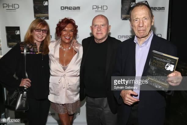 Nicole Miller Carmen D'Alessio Mark Fleischman and Anthony HadenGuest attend Mark Fleischman and Friends Celebrate Inside Studio 54 at PHD Rooftop...
