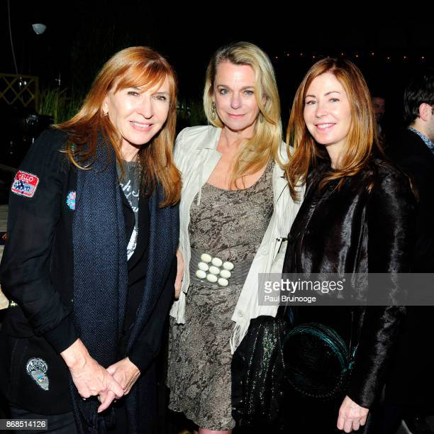 Nicole Miller Debbie Bancroft and Dana Delany attend The Cinema Society with FIJI Water Men's Journal and Synchrony host the after party for Marvel...