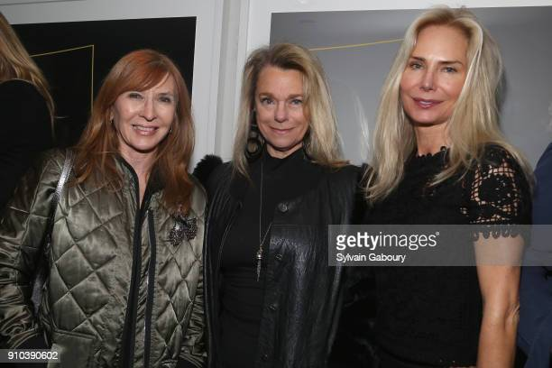 Nicole Miller Debbie Bancroft and Valesca GuerrandHermes attend Cohen Media Group with The Cinema Society host the after party for 'Double Lover' at...