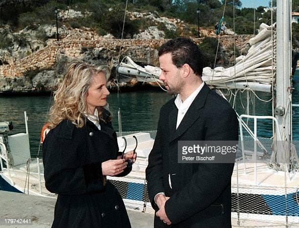 Nicole mit Ehemann Winfried SeibertZDFShow Auf der Straße nach SüdenMallorca/Spanien Schiff Urlaub