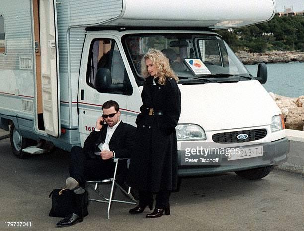 Nicole mit Ehemann Winfried SeibertZDFShow Auf der Straße nach SüdenMallorca/Spanien Urlaub Wohnwagen