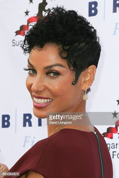 Nicole Mitchell Murphy arrives at the 7th Annual Big Fighters Big Cause Charity Boxing Night Benefiting The Sugar Ray Leonard Foundation at The Ray...