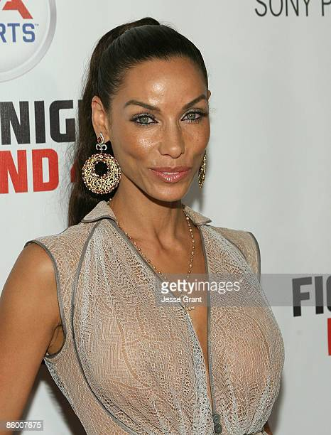 Nicole Mitchell Murphy arrives at the Los Angeles premiere of Tyson at the Pacific Design Center on April 16 2009 in West Hollywood California